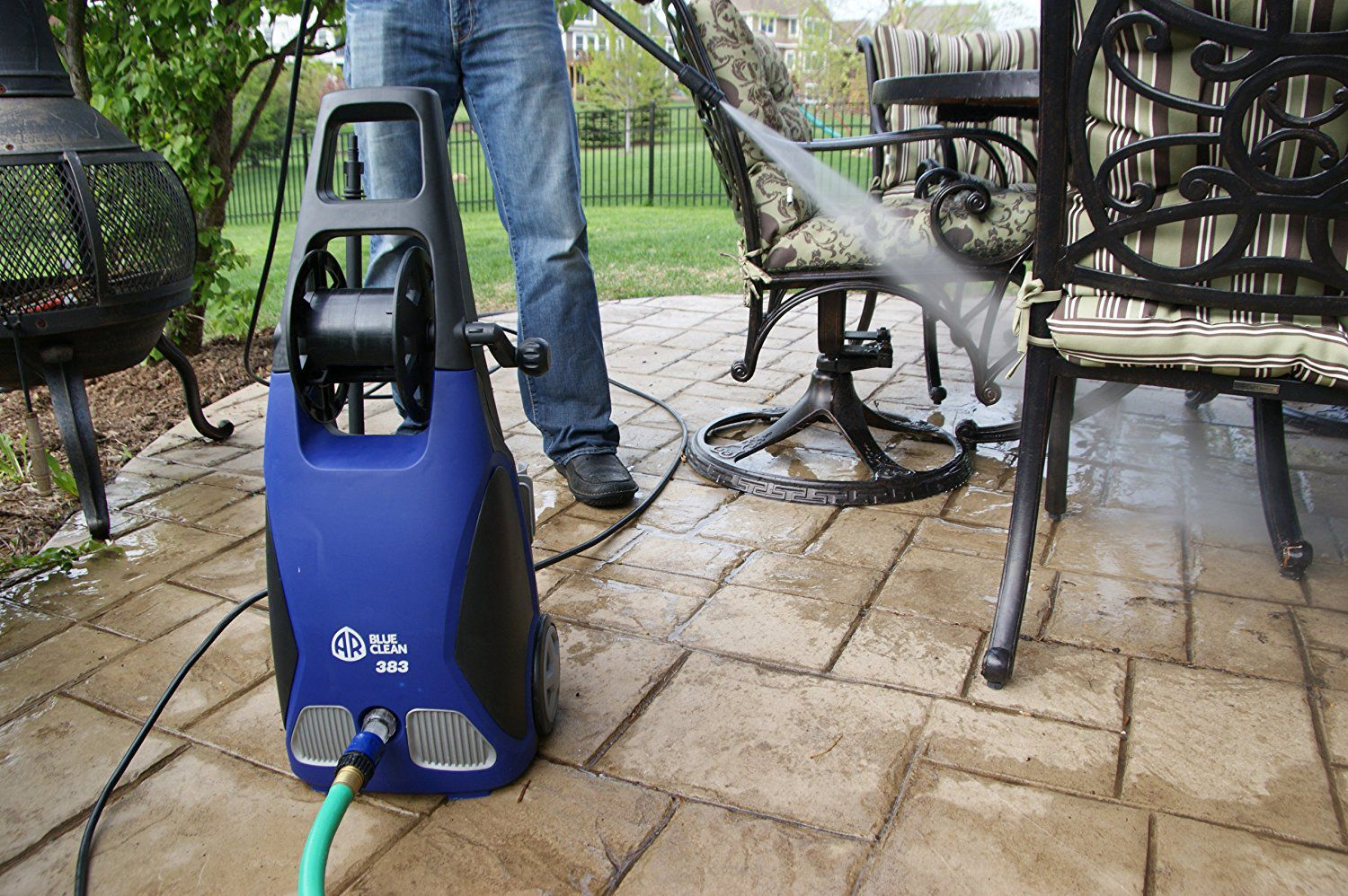 AR Blue Clean AR383 Electric Power Washer Review