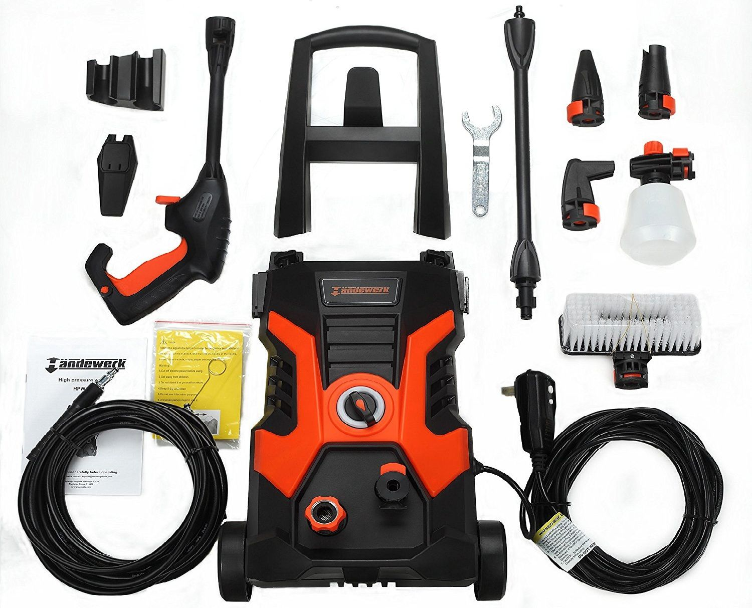 Handewerk 13 AMP 1.5GPM Electric Pressure Washer Review
