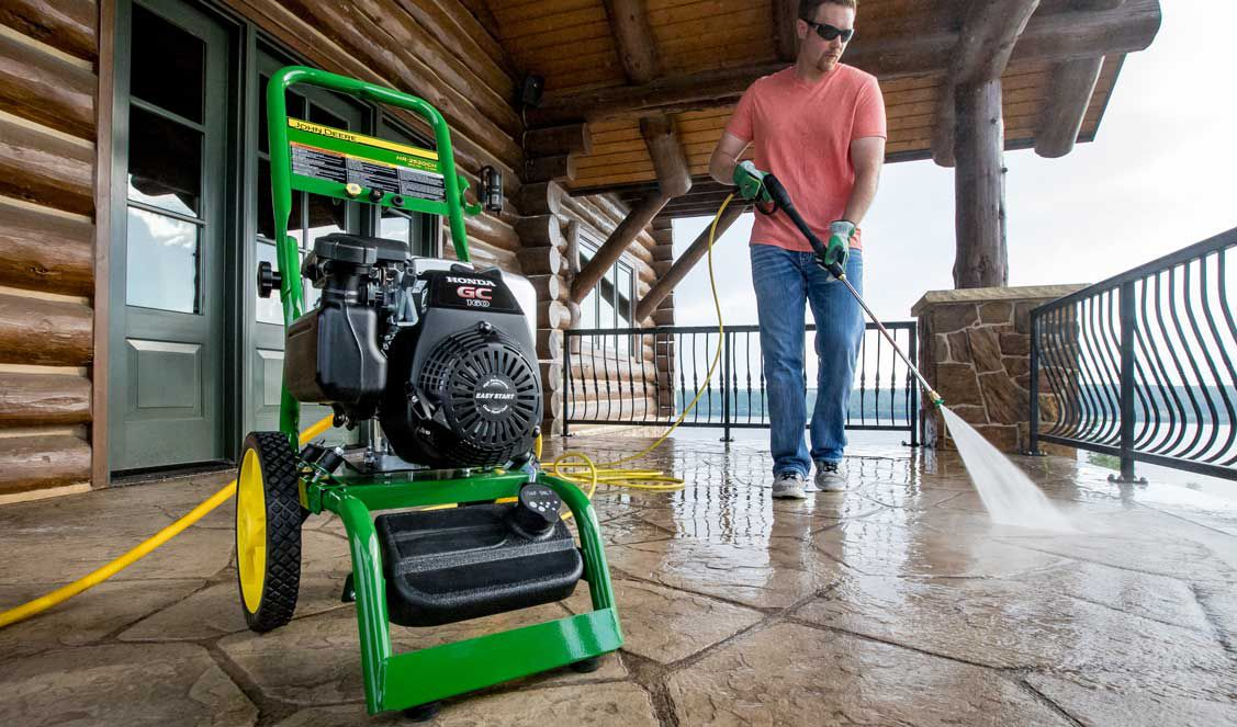 How To Use The Pressure Washer