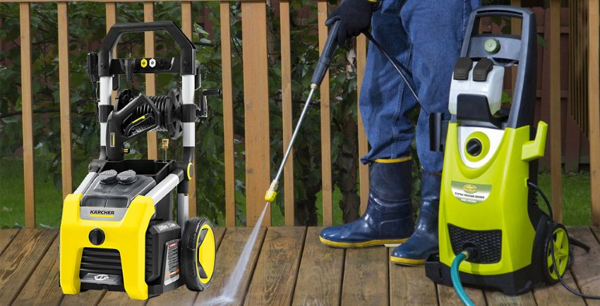How To Use The Power Washer