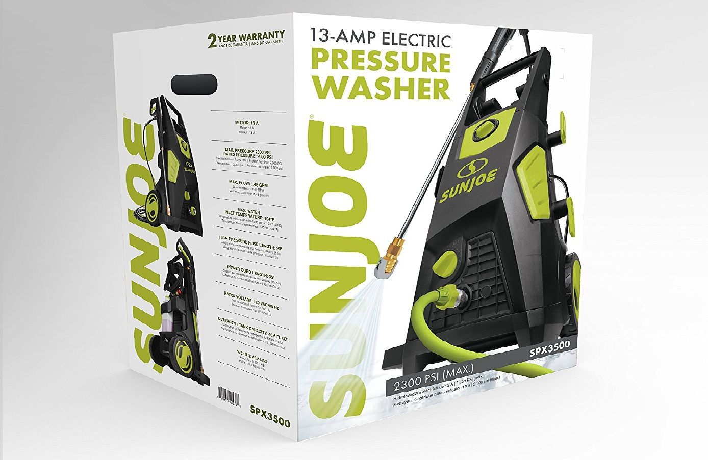 Sun Joe SPX3500 Electric Washer