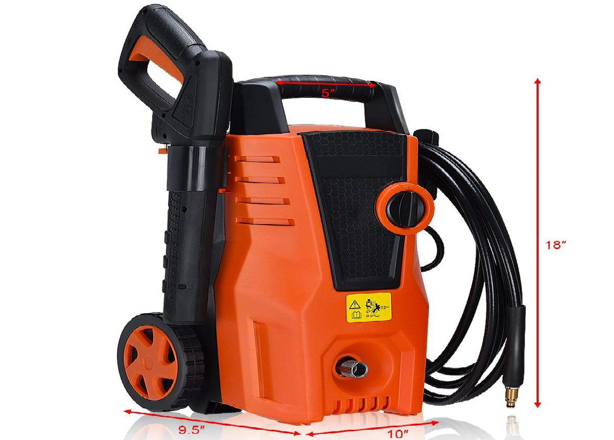 COSTWAY 1400PSI Electric Pressure Washer Review