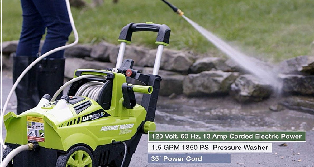 Earthwise PW18503 Electric Pressure Washer Review