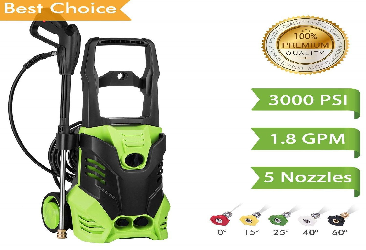 Flagup 3000 PSI Electric Pressure Washer Review