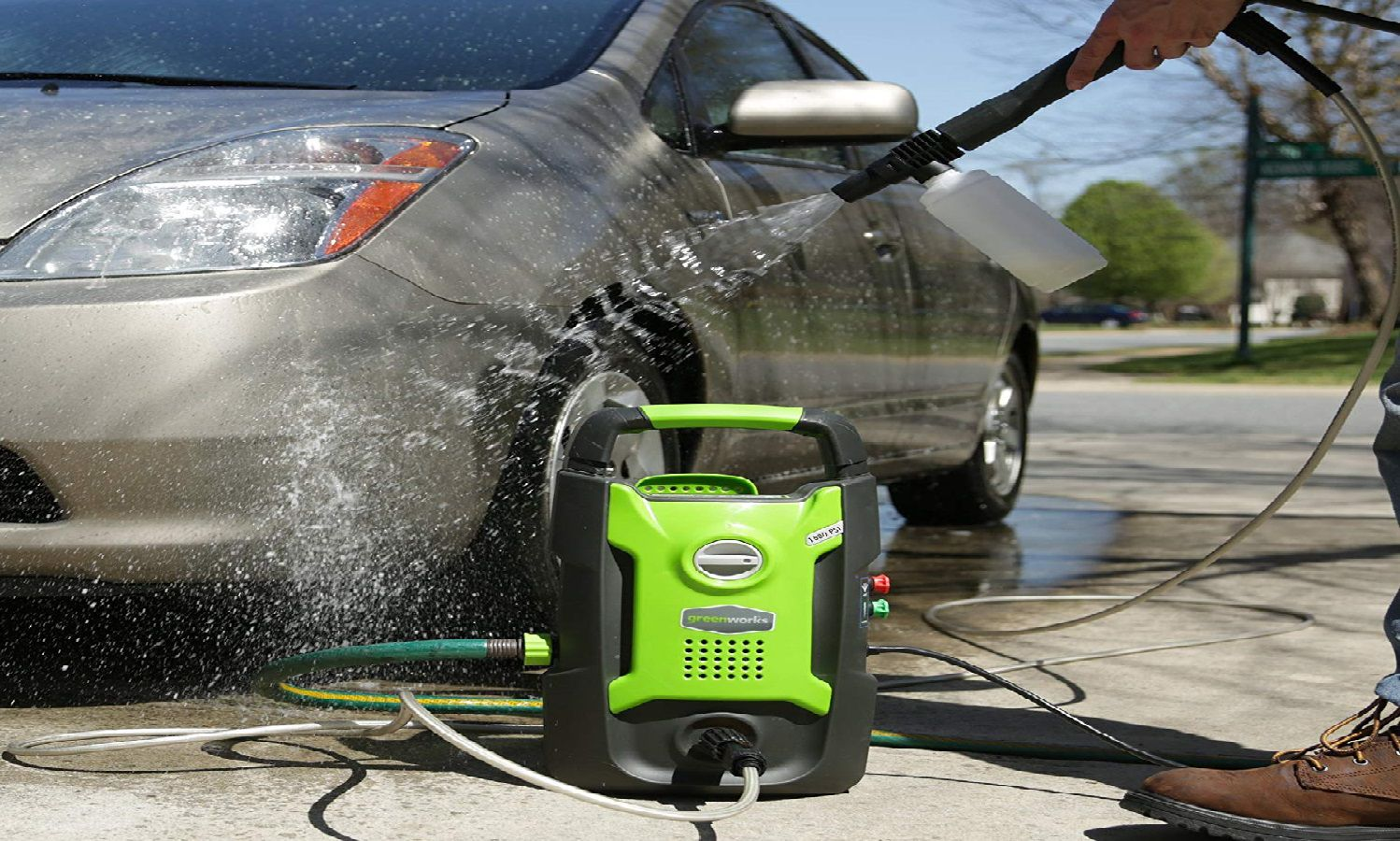 Greenworks 1500 PSI Electric Power Washer