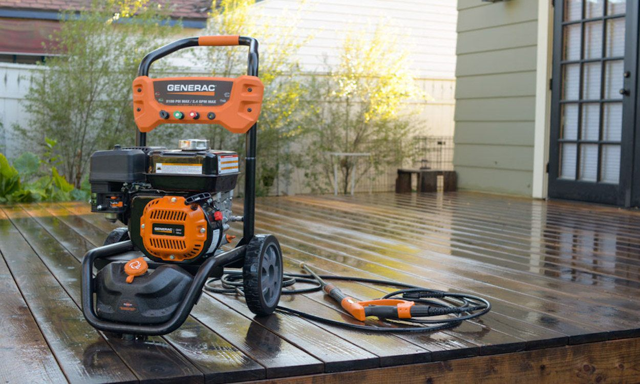 Clean Your Floor With A Electric Pressure Washer