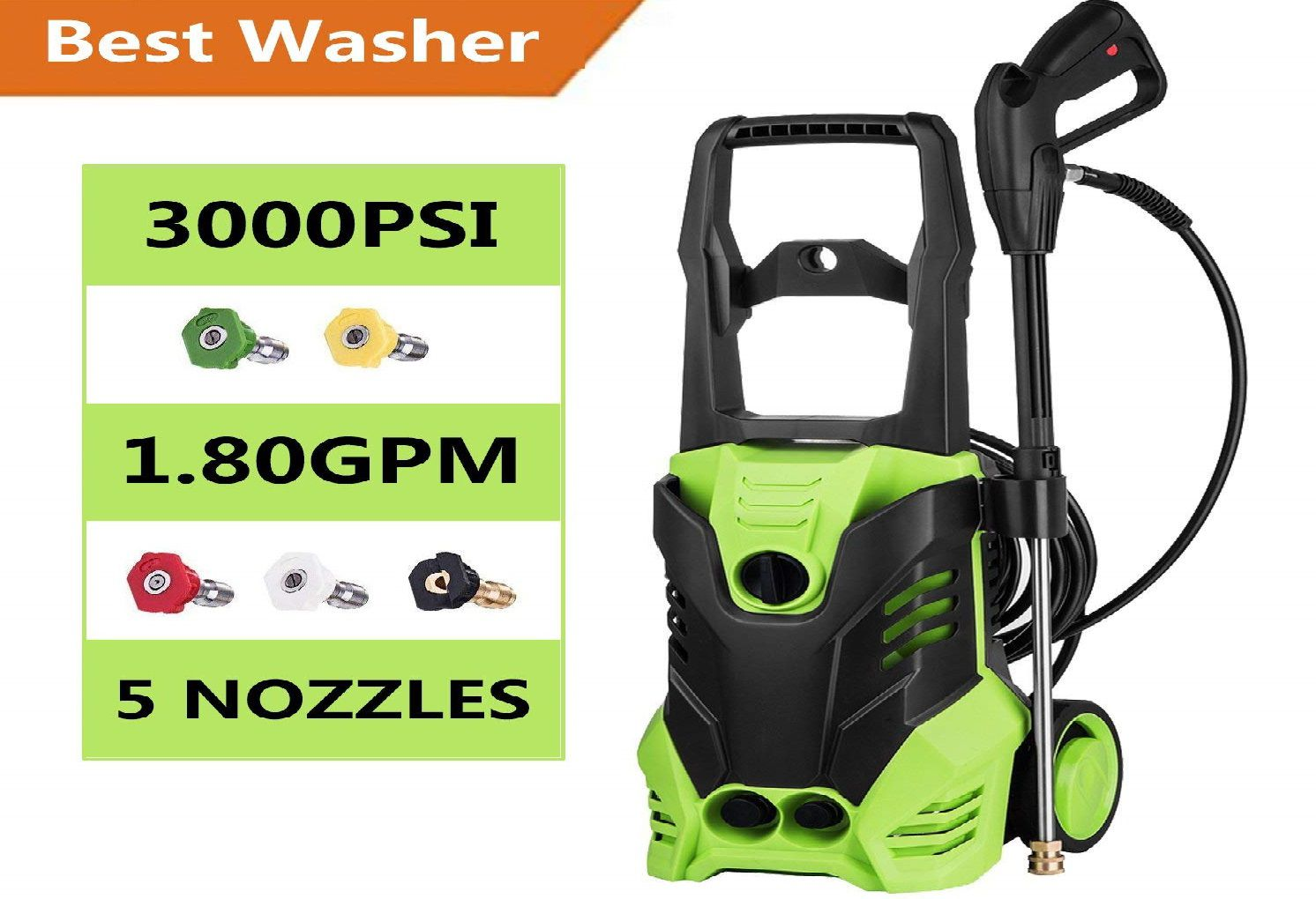 Jaketen 3000 PSI Electric Pressure Washer Review