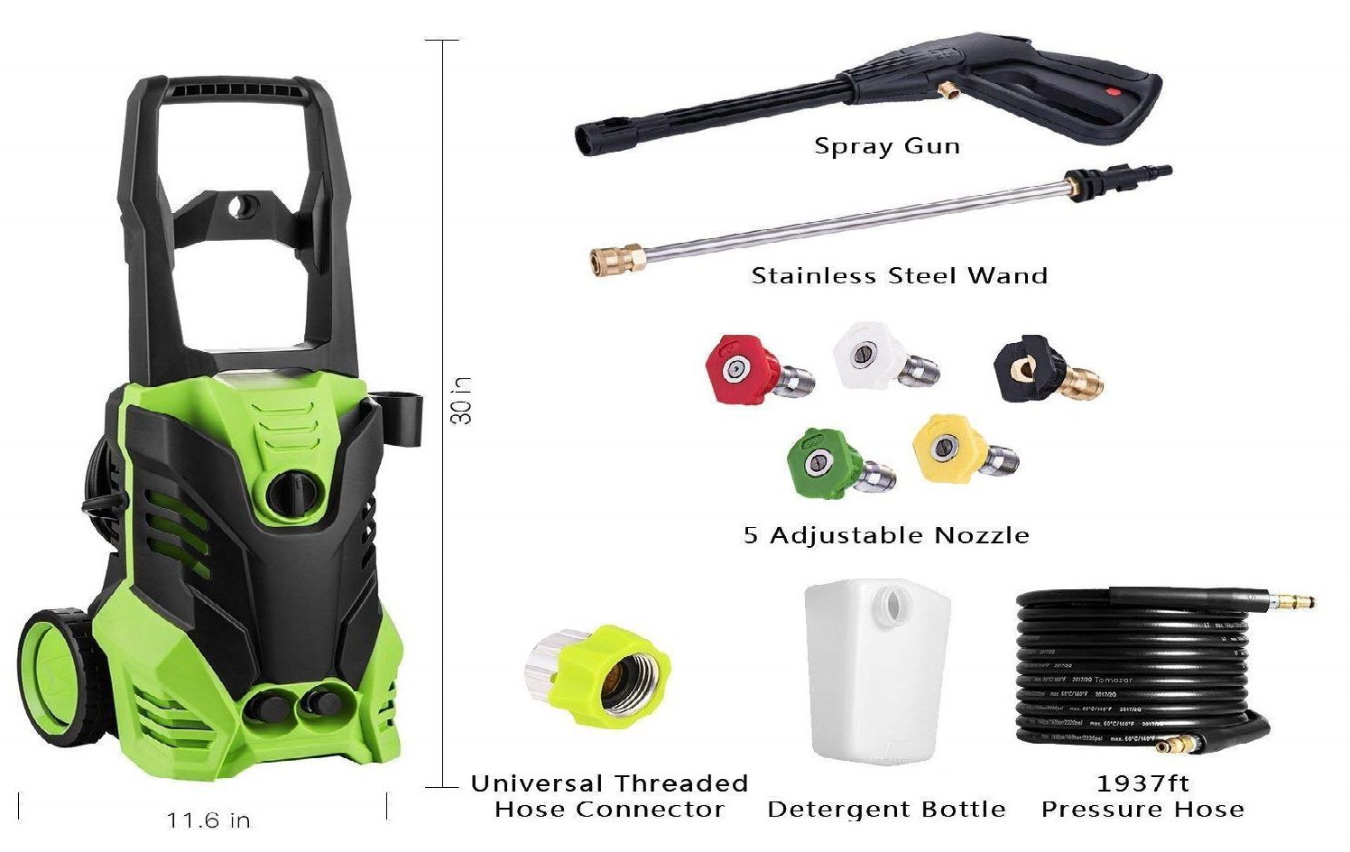 Luckdeal Electric Power Washer