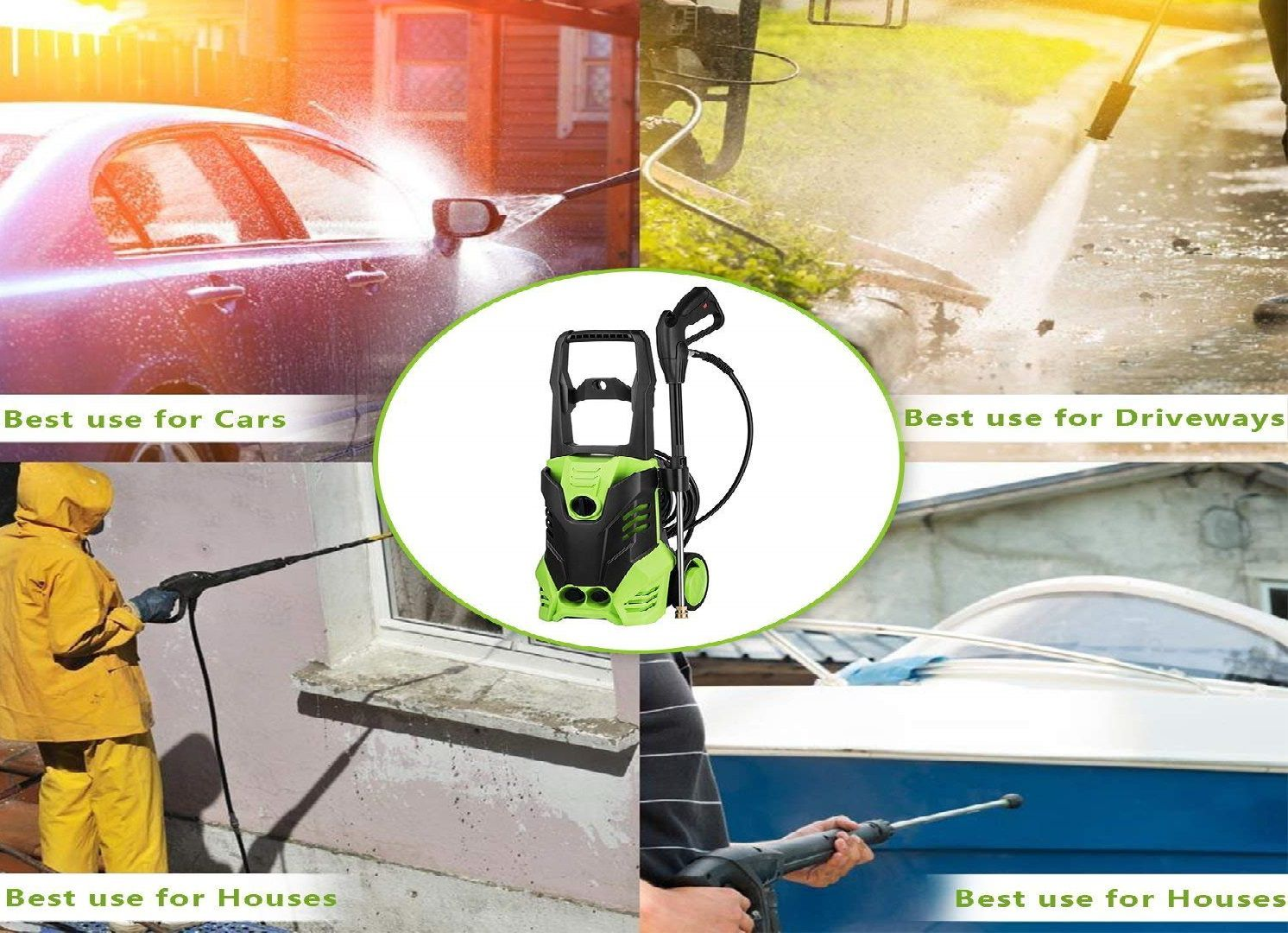 Ncient SVX4500 High Pressure Power Washer Review