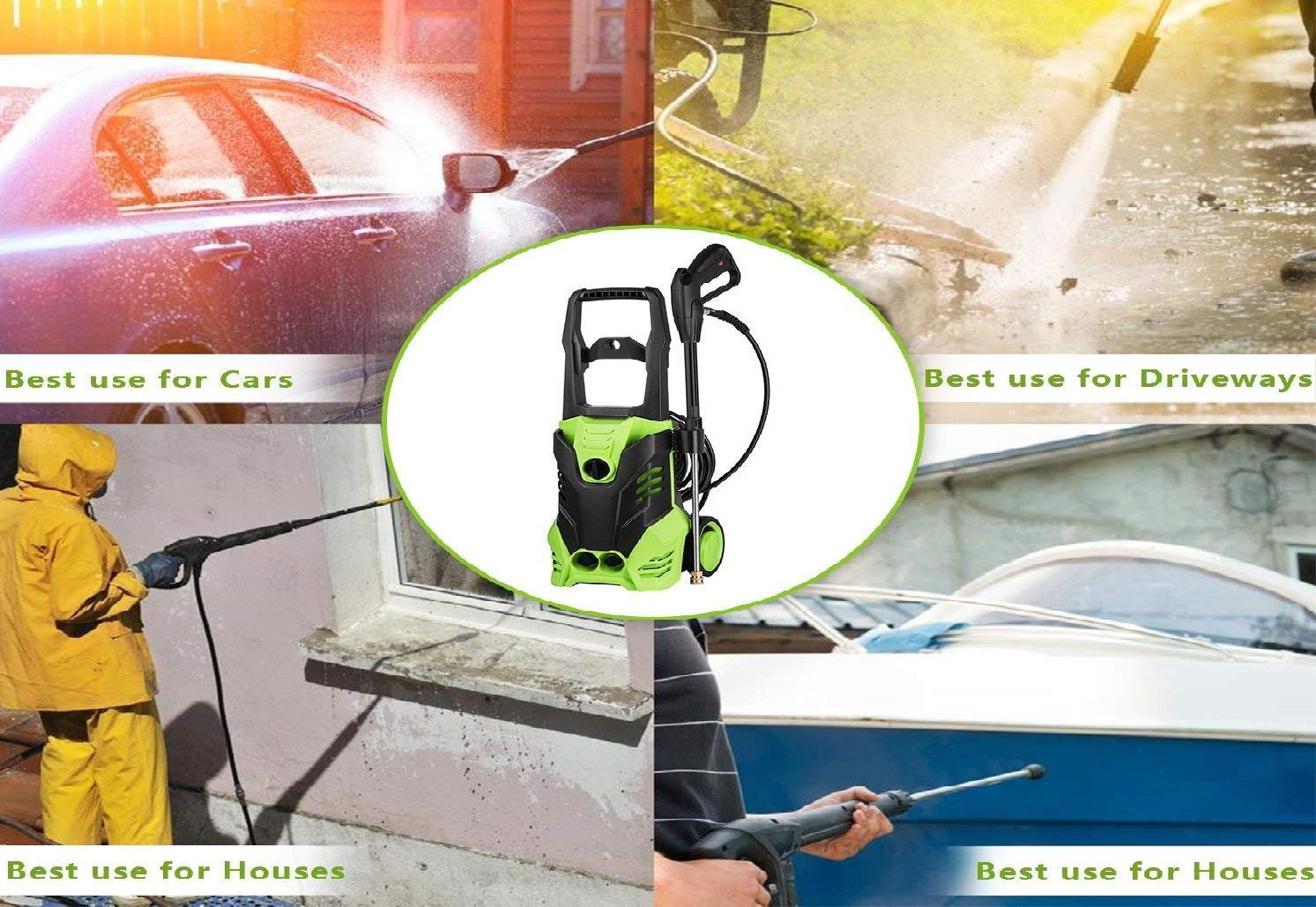 Ncient SVX4500 High Pressure Power Washer