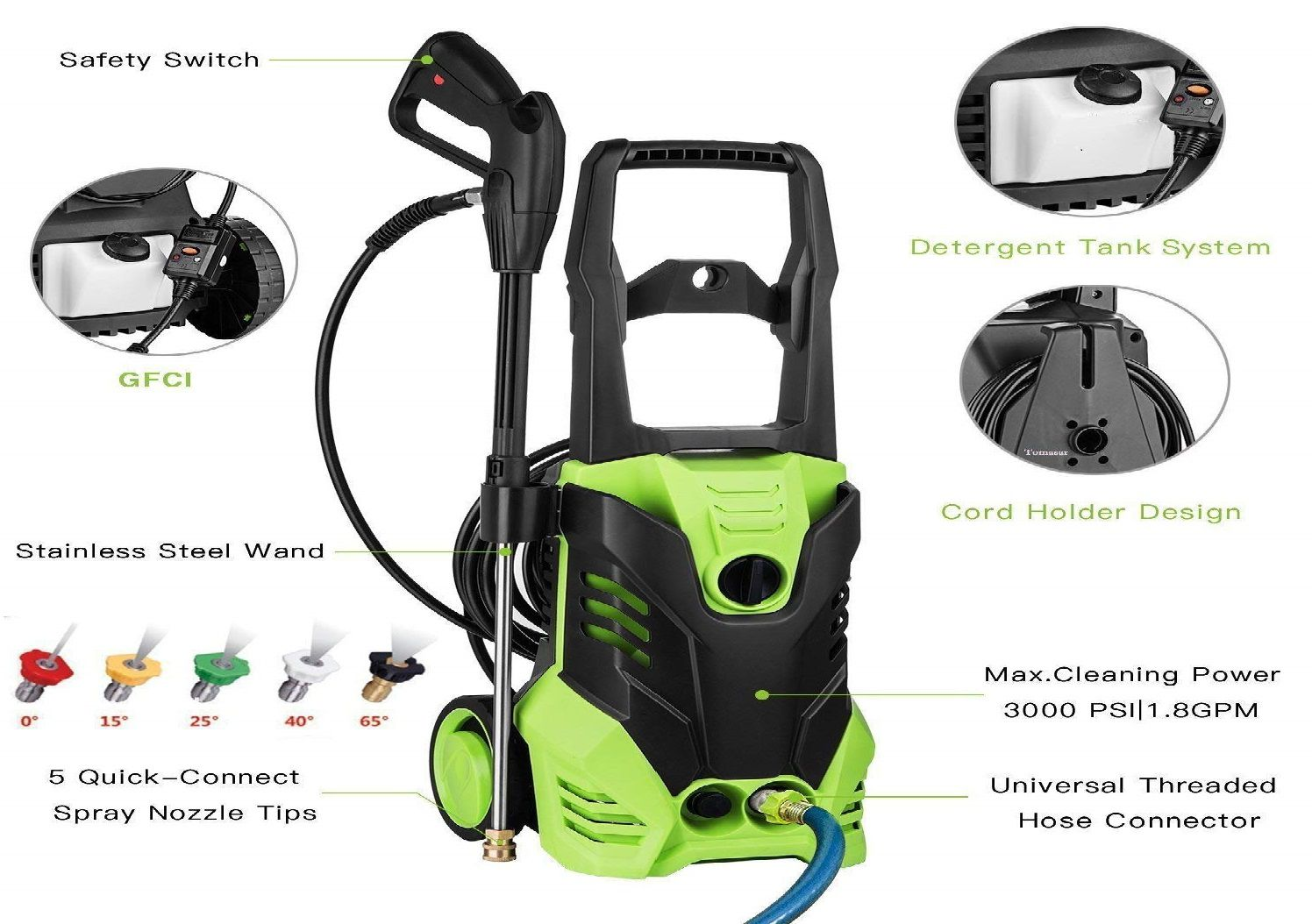 Ncient SVX4500 High Pressure Washer