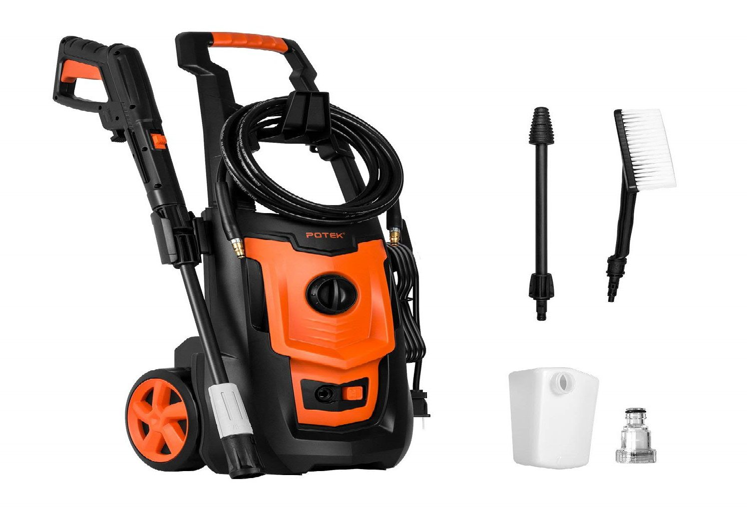 POTEK 1800PSI Electric Pressure Washer Review