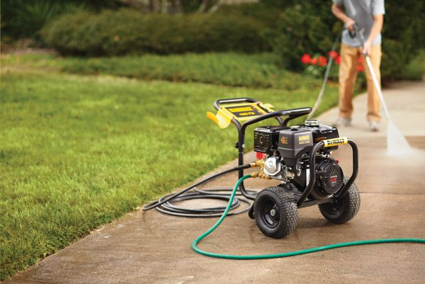 Power Washer Benefits