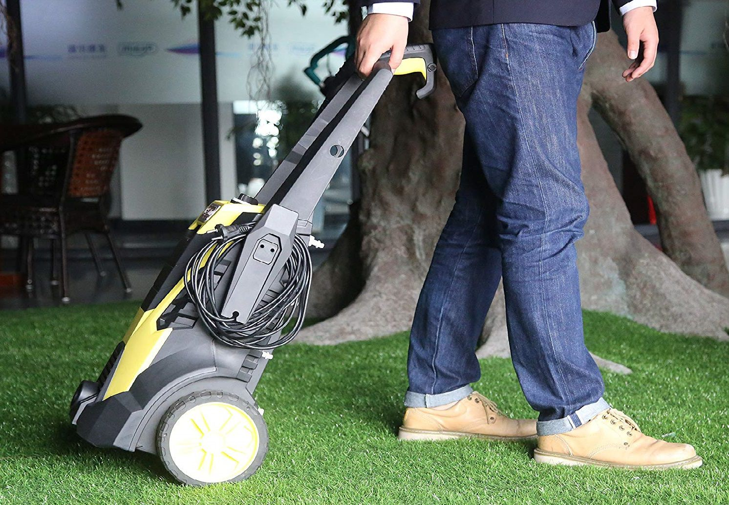 Realm BY02-BIMH Electric Pressure Washer