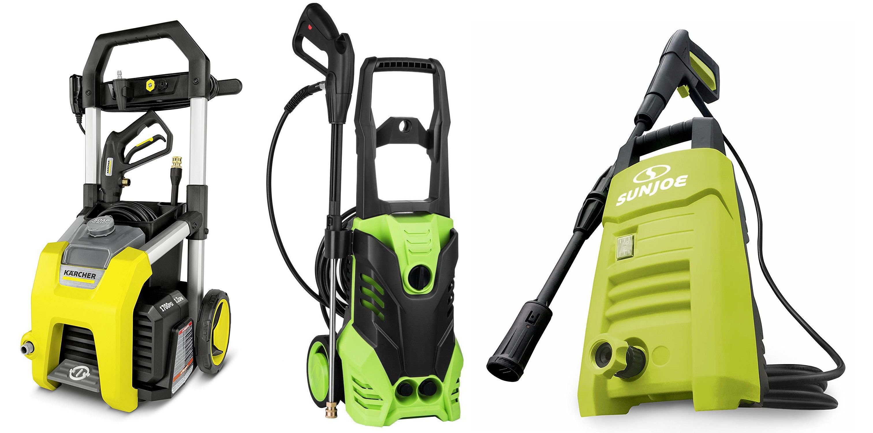 Top #3 Best Electric Pressure Washer Features
