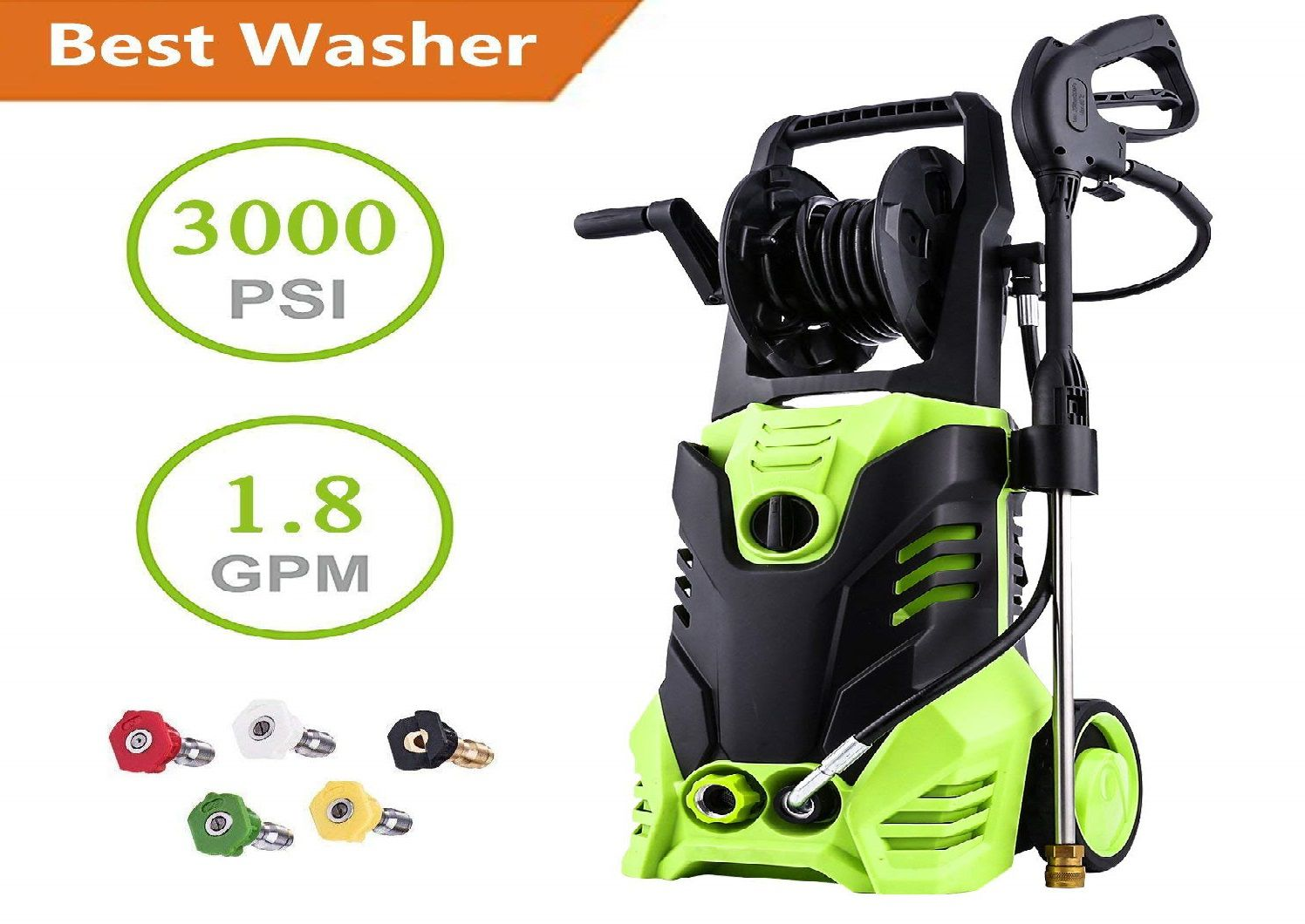 Hurbo Electric Pressure Washer Review